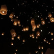 Loi krathong — Vídeo de stock