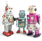 Robots — Stock Photo