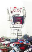 Robota zabawki — Zdjęcie stockowe