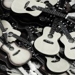 Toy guitars — Stock Photo #40551393