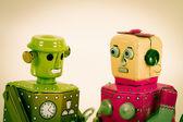 Robot oyuncaklar — Stok fotoğraf