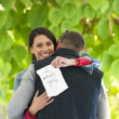 Stockfoto: Happy Marriage Proposal