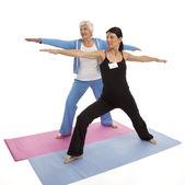 Yoga Lesson — Stok fotoğraf