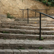 Stairs to old city in ohrid,macedonia — Stock Photo