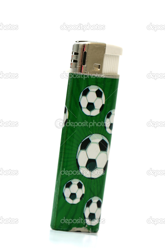 Football fans lighter  Stock Photo #12331468