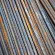 Background texture of steel rods — Stock Photo