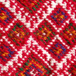 Traditional macedonian embroidery — Stock Photo