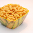 Stock Photo: Corn puffs,snaks