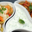 Salad pickeld with tzaziki — Photo
