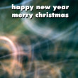 Happy New Year an Christmas greeting card — Stock Photo