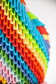 Arco iris de origami — Foto de Stock