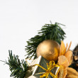 Editable christmas decoration - Stockfoto