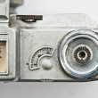 Stock Photo: Rangefinder vintage camera,russian