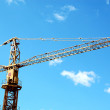 Tower crane — Foto de Stock
