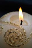 Ball candle — Stock Photo