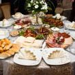 Buffet Lunch table — Stock Photo