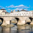 Stock Photo: Stone bridge Skopje