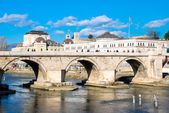 Stone bridge Skopje — Stock Photo
