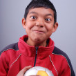 Stockfoto: Young handball player