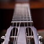 Acoustic Guitar,Details — Stock Photo