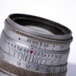 Stock Photo: Vintage manual lens, details