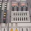 Music mixer desk — Stock Photo #22054931