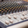 Music mixer desk — Stock Photo #22054961