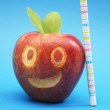 Smilling apples — Stock Photo