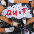 Stok fotoğraf: Quit smoking now