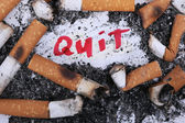 Quit smoking now — Stock Photo