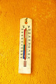 Old wall thermometer — Foto de Stock