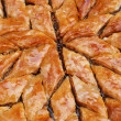 Baklava, turkish ready for eating — Stock Photo
