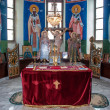 Oltar in orthodox church — Stock Photo