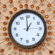 Pearl wall clock — Stock Photo #26160495