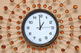 Pearl wall clock — Stock Photo