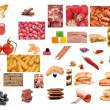 Foto Stock: Various food