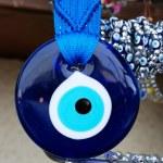 Blue eye amulet — Stock Photo
