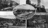 Vintage postcard from struga,macedonia — Stock Photo