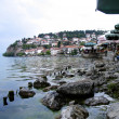 Lake ohrid , macedonia — Stock Photo