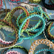 Latin america bracelets — Stock Photo
