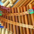 Latin American Pan Pipes — Stock Photo