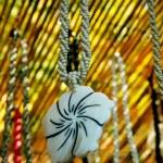 Bead necklaces — Stock Photo
