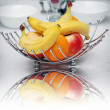 Stock Photo: Banana,orange,apple