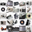 Like vintage cameras — Stock Photo
