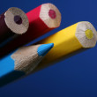 Close up of pencils — Stock Photo
