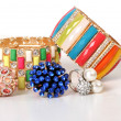 Stock Photo: Fashion colourfull bracelet