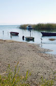 Lago ohrid, macedonia — Foto de Stock