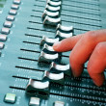 Profi audio mixer — Stock Photo #34598315