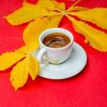 Hot espresso — Stock Photo