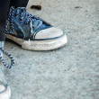 old sneakers — Stock Photo #35736029